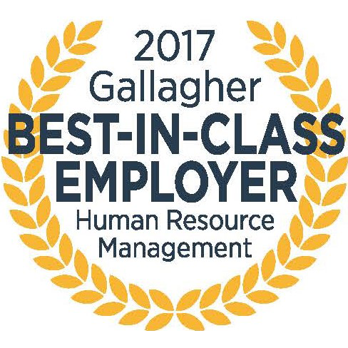 2017 Gallagher Best-in-Class Employer, Human Resource Management logo