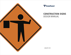 Thumbnail for brand construction sign design manual