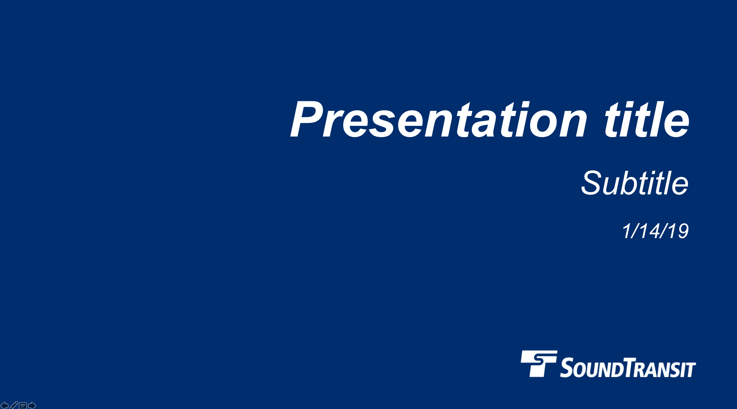 Image of agency brand powerpoint template
