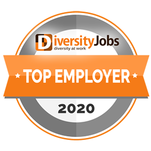 Diversity Jobs Top Employer Badge