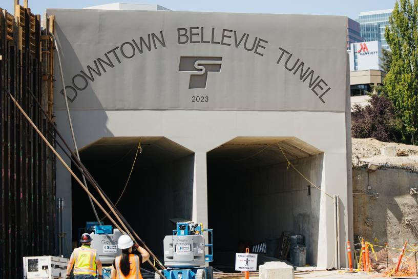 Photo of Bellevue Downtown Tunnel