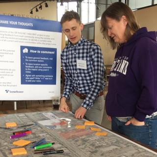 SR 522/145th Northeast Bus Rapid Transit community meeting
