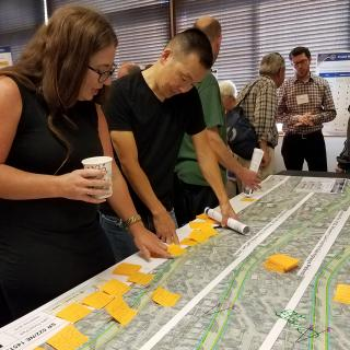 SR 522/NE 145th Bus Rapid Transit community meeting