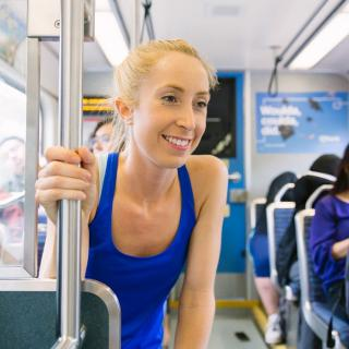 How one rider combines transit and running to go farther, see more