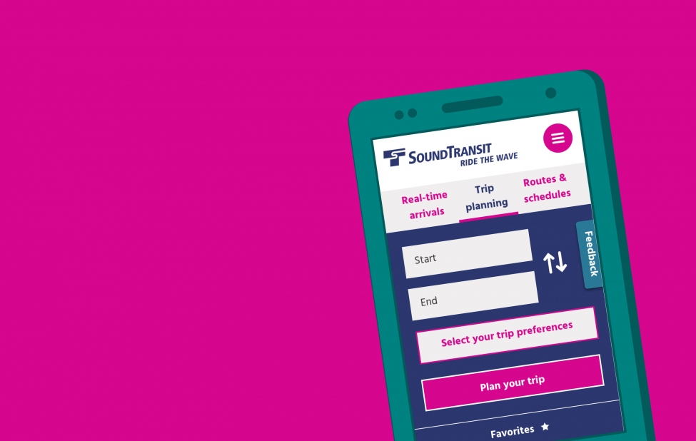 Sound Transit's new website is faster for mobile users