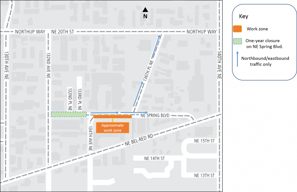 East Link Extension ongoing road closures   Sound Transit