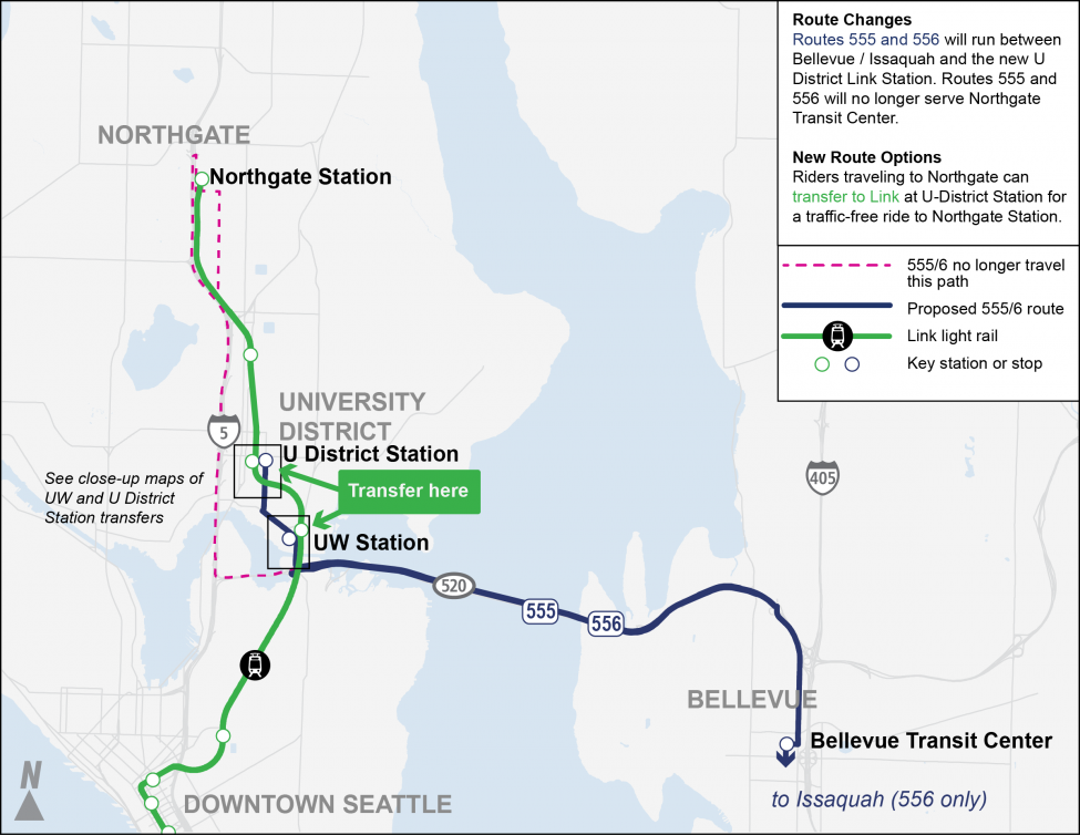 Proposed ST Routes 555/556 map. Anticipated implementation – September 2021.