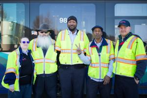 King County Metro bus drivers, who operate Sound Transit's bus routes in King County