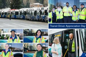 Take a minute, now or when you return to commuting, to thank your transit driver