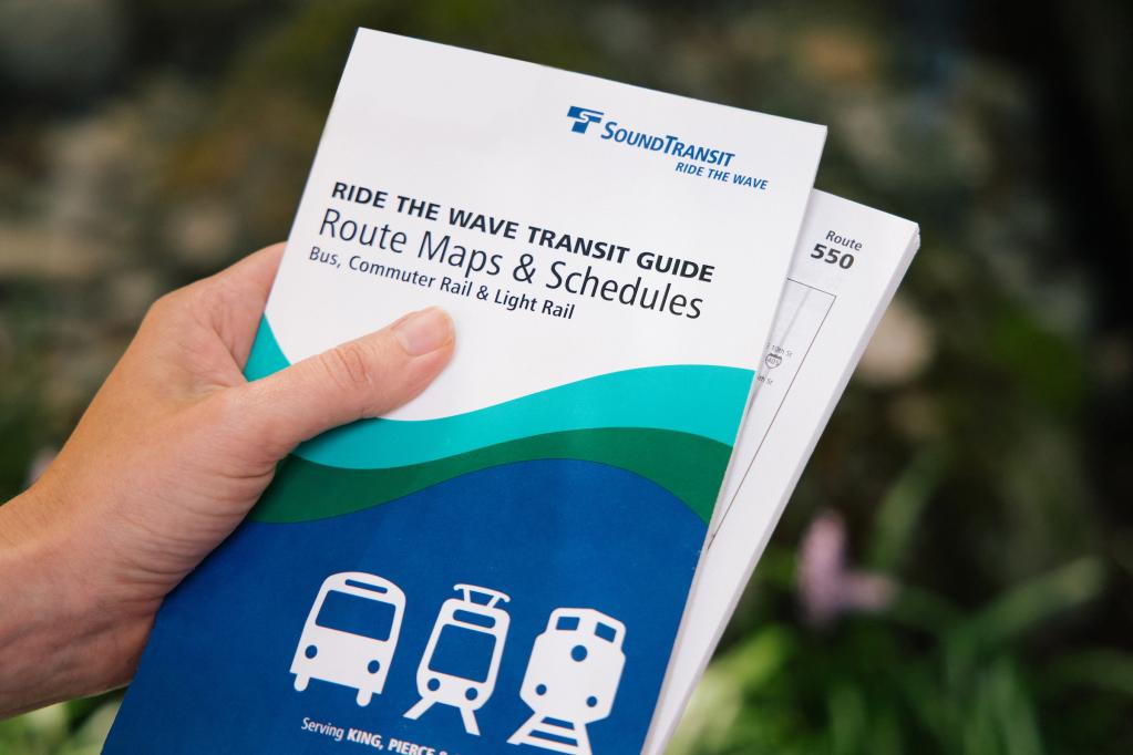Photo of the Ride the Wave Transit Guide